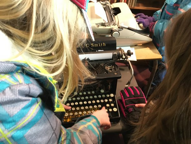 Fun with a typewriter