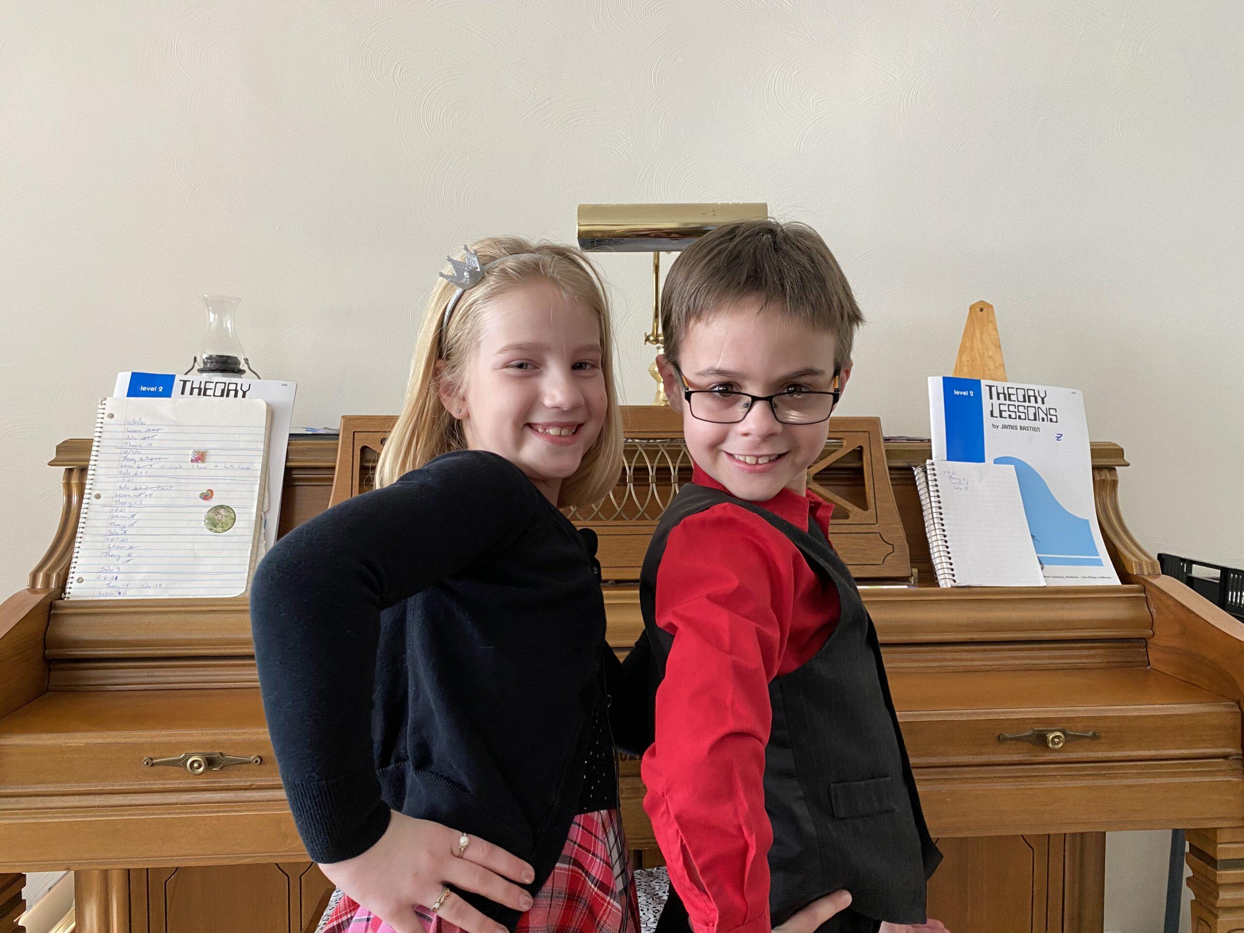 Zander and Helaina